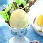 Мраморные чайные яйца