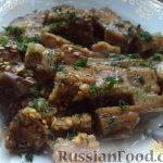 Баклажаны, соленые с чесноком