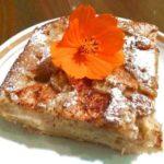 Пирог на кефире с яблоками / Простые рецепты