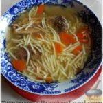 Суп из бульонных «кубиков» (суп из цесарки)