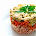 Салат с курицей и грибами / Простые рецепты